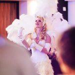 deutsches Las Vegas Showgirl