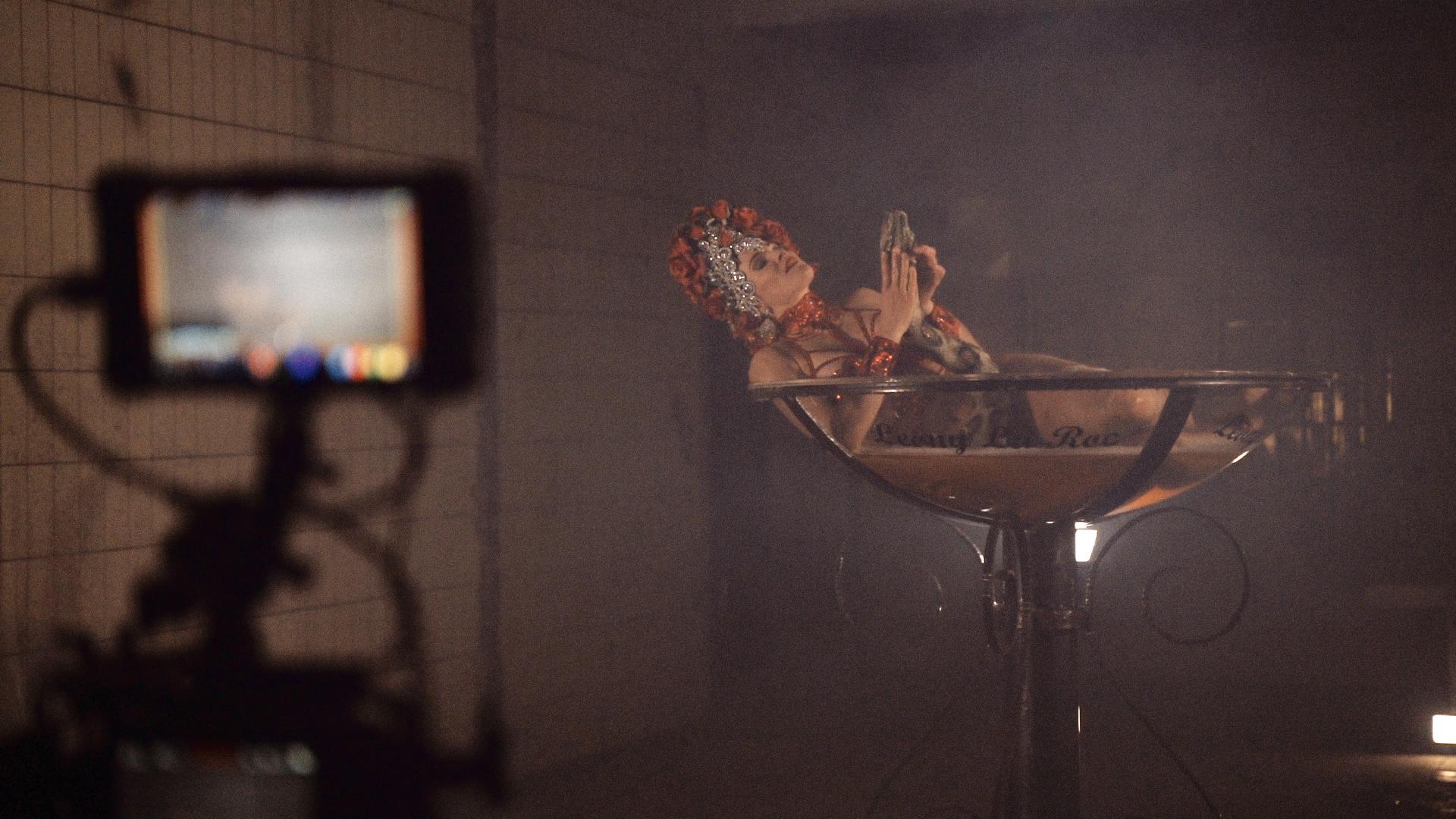 Musikvideodreh für Kris Menace Partner in Crime