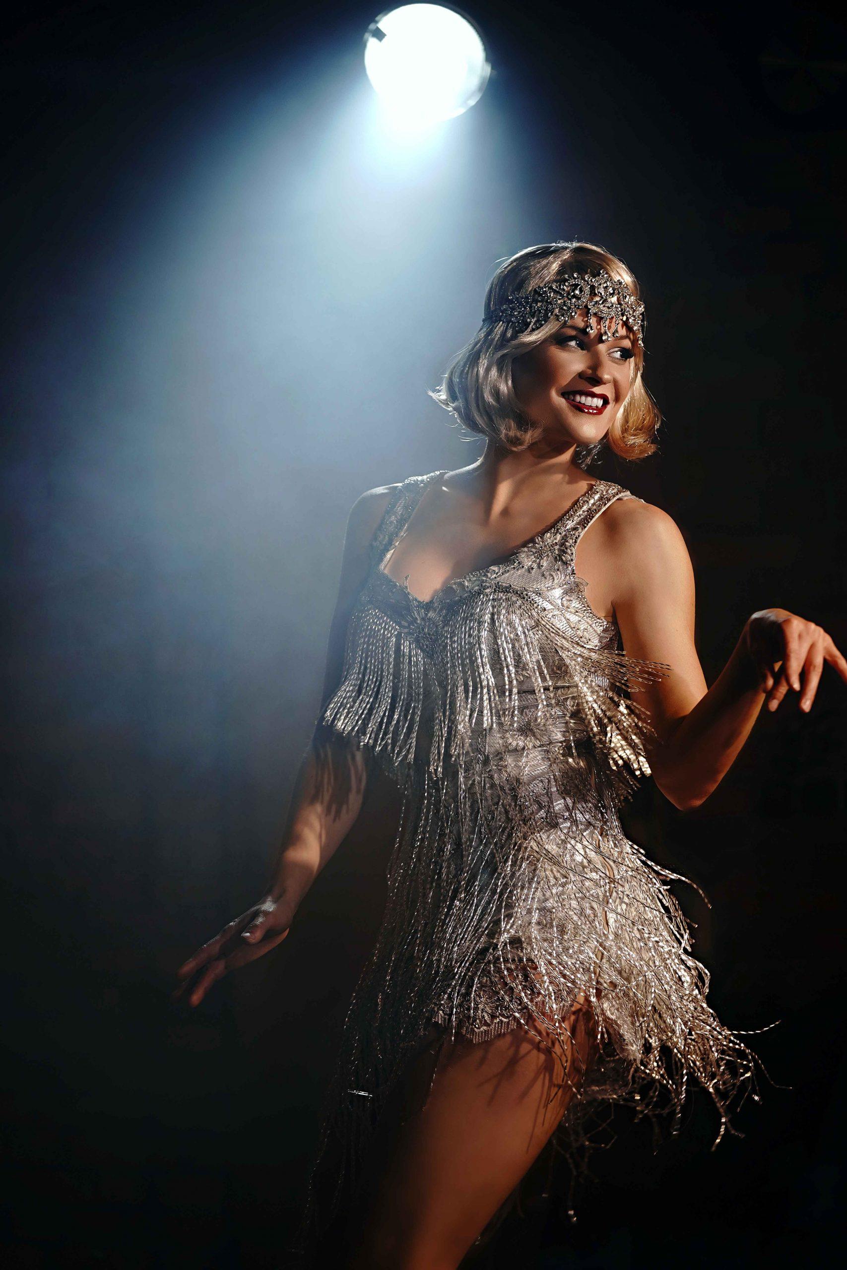 Leony la Roc live beim Charleston Tanz